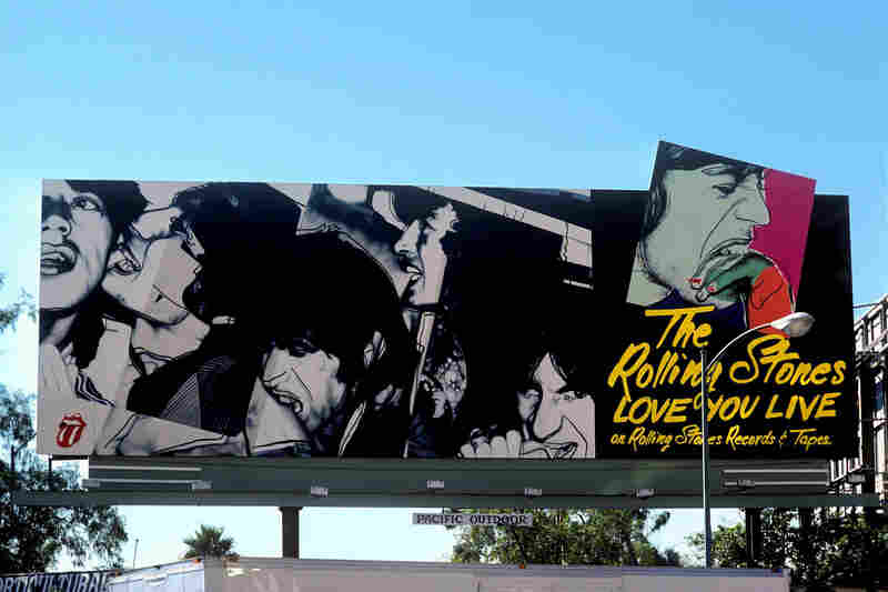 The Rolling Stones' Love You Live, 1977 (Rolling Stones/Atlantic records), art by Andy Warhol.