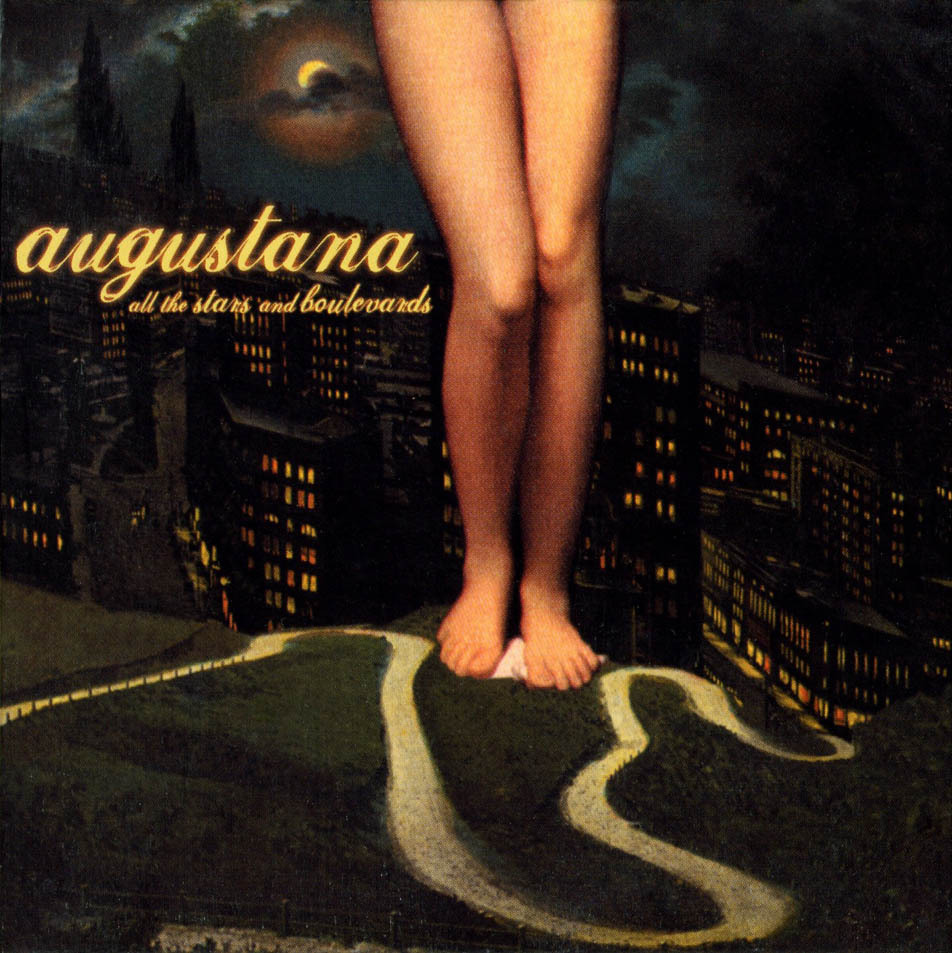 Craig's cover art for the 2005 Augustana album All the Stars and Boulevards.