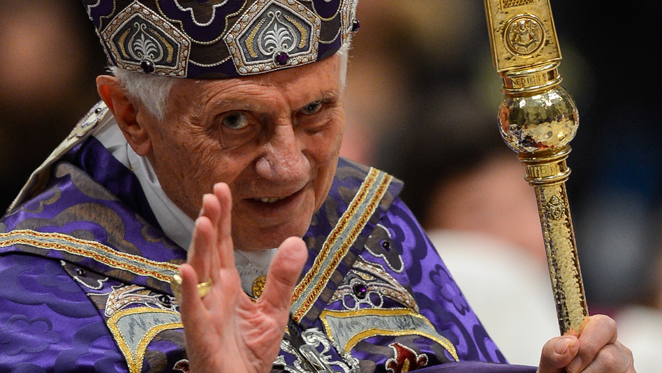 Pope Benedict XVI. He'll be spreading the word on Twitter. (AFP/Getty Images)