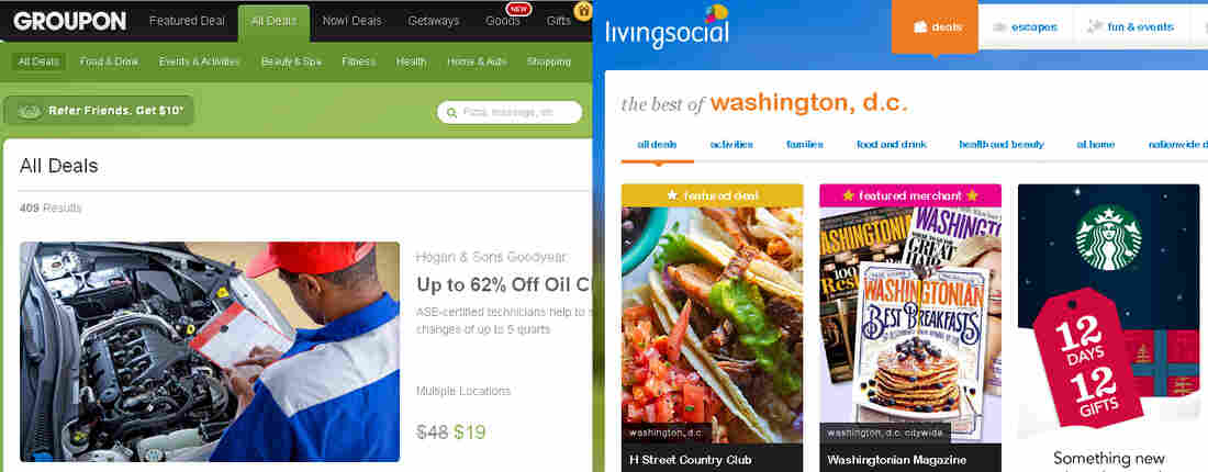 """Despite their recent woes, """"daily deal"""" companies Groupon and Living Social can be profitable, says analyst Arvind Bhatia."""