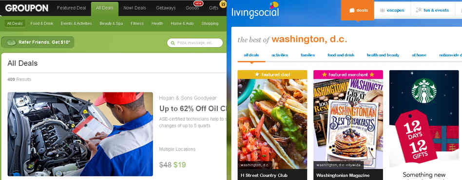 "Despite their recent woes, ""daily deal"" companies Groupon and Living Social can be profitable, says analyst Arvind Bhatia."