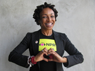 Siedah Garrett at NPR West.
