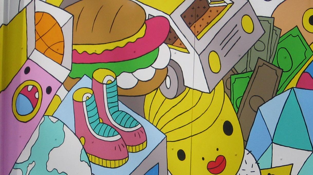 Street Art Brings Life To A Miami Neighborhood : NPR