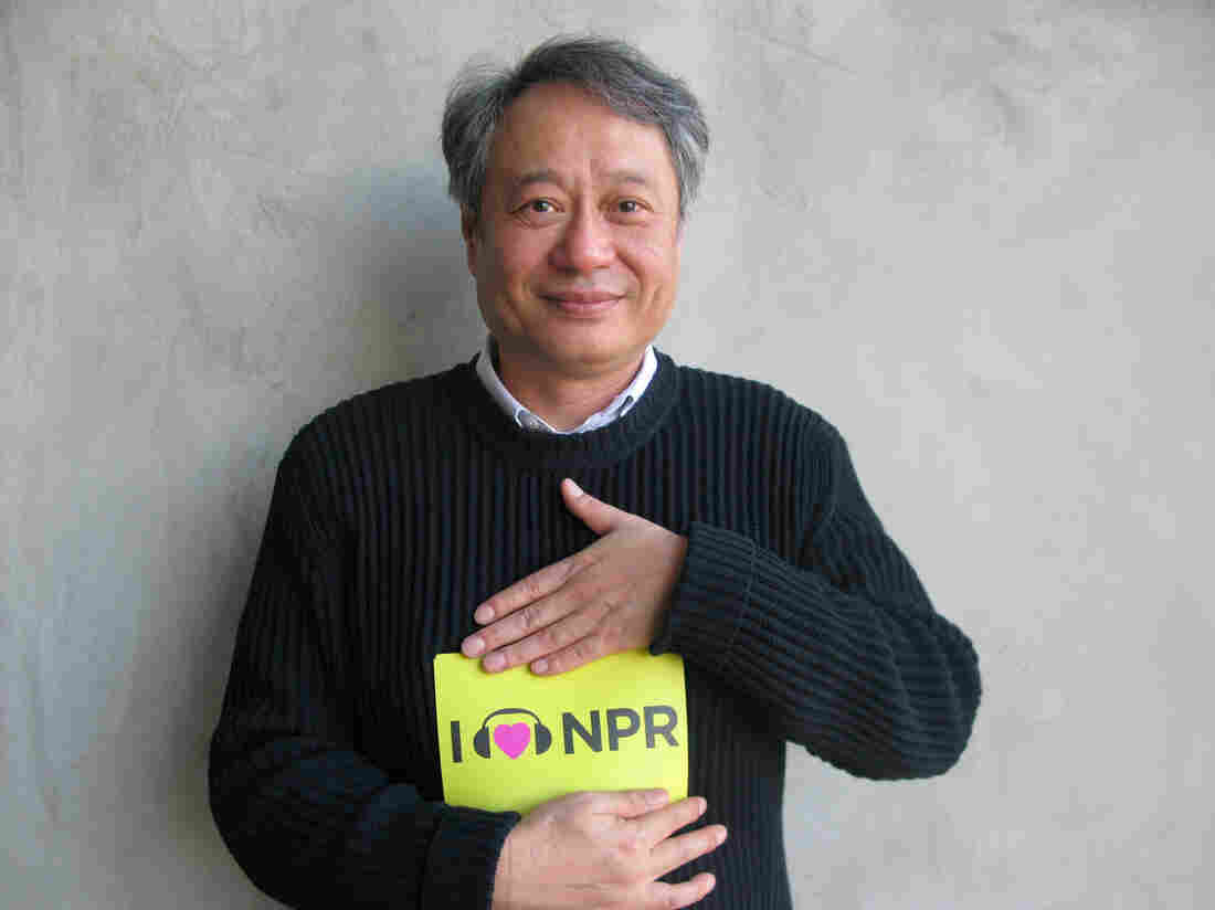 Ang Lee at NPR West.