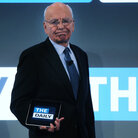 News Corp. CEO Rupert Murdoch in February 2011, when The Daily was launched. Now, it's in shutdown mode.