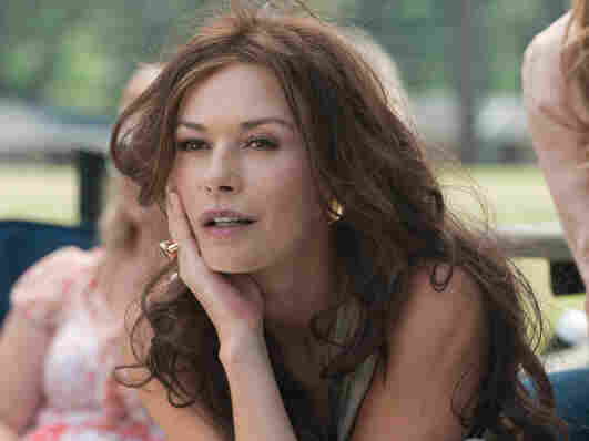 In Butler's vaguely roguish George, the local soccer moms (including an ex-sportscaster played by Catherine Zeta-Jones) find something other than their kids to pay attention to at soccer practice.