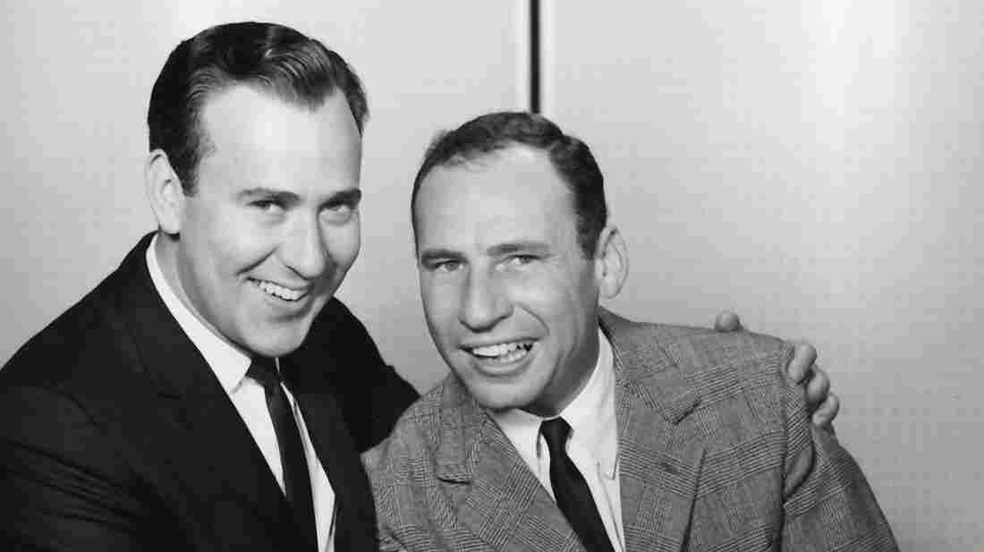 "The new five-DVD, one-CD box set The Incredible Mel Brooks is crammed full with comedy gold — and includes Brooks and Carl Reiner (above) doing their iconic skit ""The 2,000-Year-Old Man."""