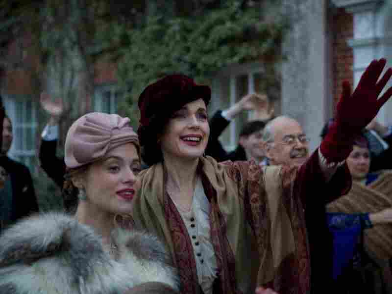 Much to the chagrin of Dolly's mother (Elizabeth McGovern, right), Dolly's feelings imperil the plans she has for her daughter.