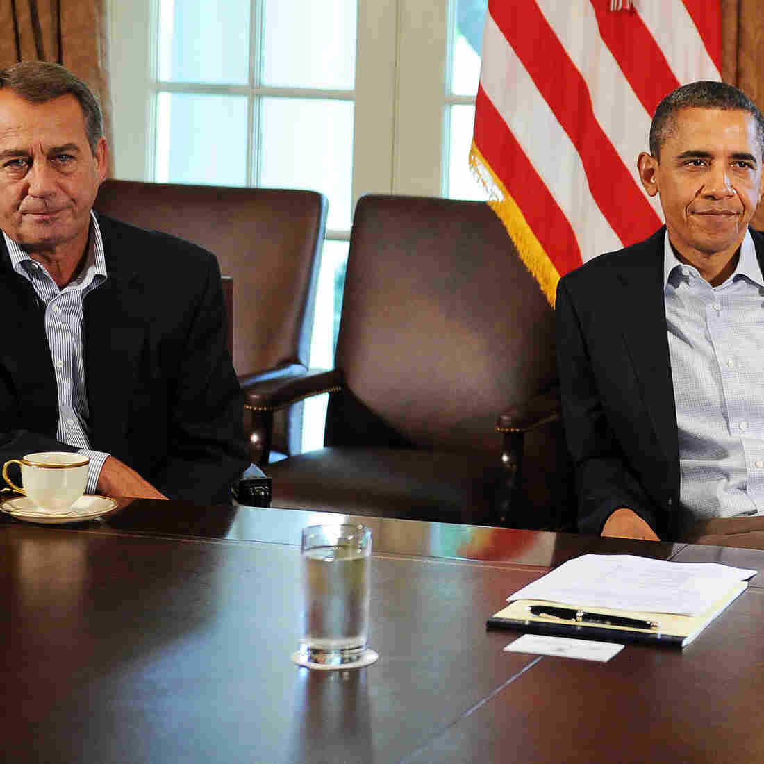 Obama And Boehner Call It Negotiation; The Rest Of Us Are Permitted To Laugh