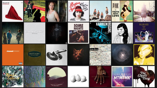 NPR Music's 50 Favorite Albums Of 2012