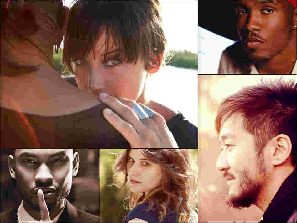 Clockwise from upper left: Cat Power, Frank Ocean, Kishi Bashi, Best Coast and Miguel — just a few of our favorite artists of 2012.