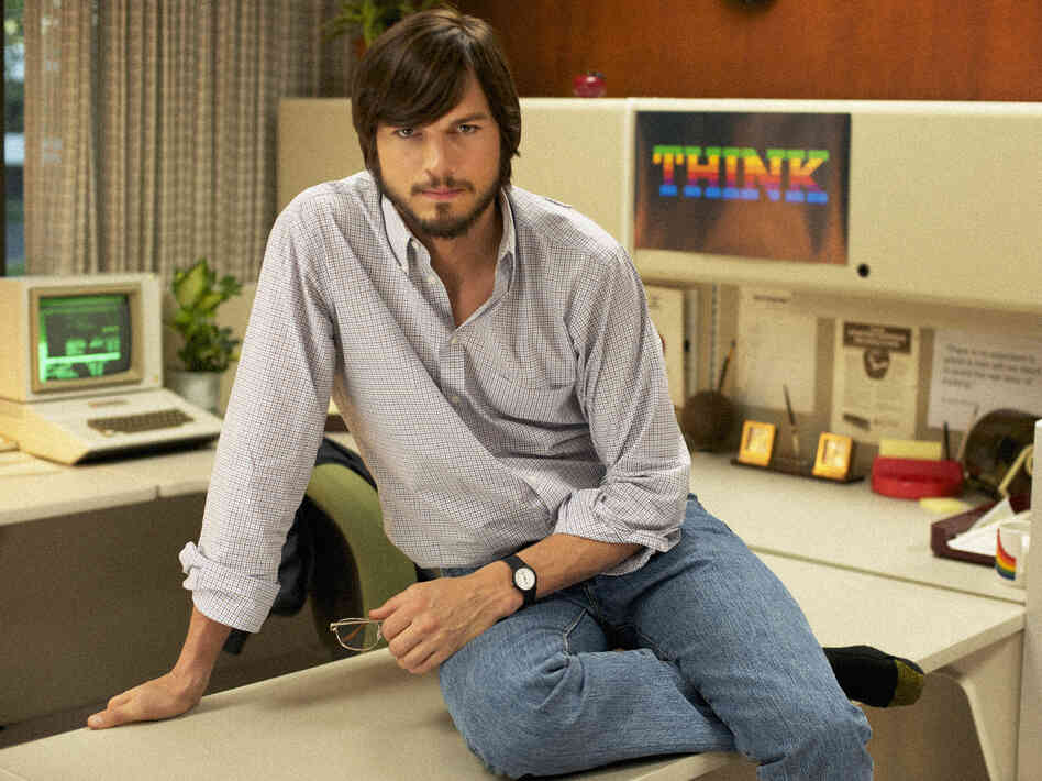 Ashton Kutcher as Steve Jobs in jOBS, directed by Joshua Michael Stern, which will close the Sundance Film Festival in January.