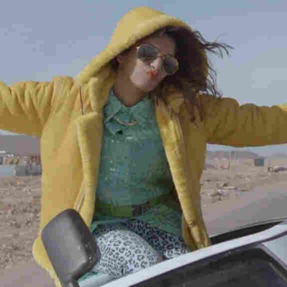M.I.A. rocks out in 2012.