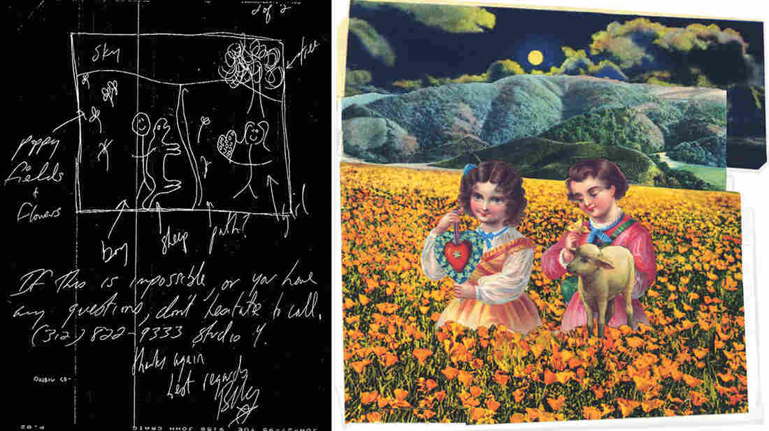 Each of John Craig's illustrations in the Mellon Collie booklet was based on rough directions from Billy Corgan, often sent via fax.