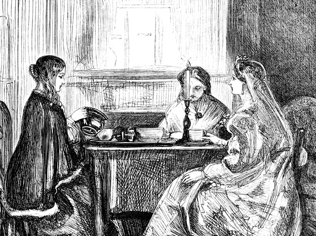 Tea a dangerous habit? Women have long made a ritual of it, but in 19th century I