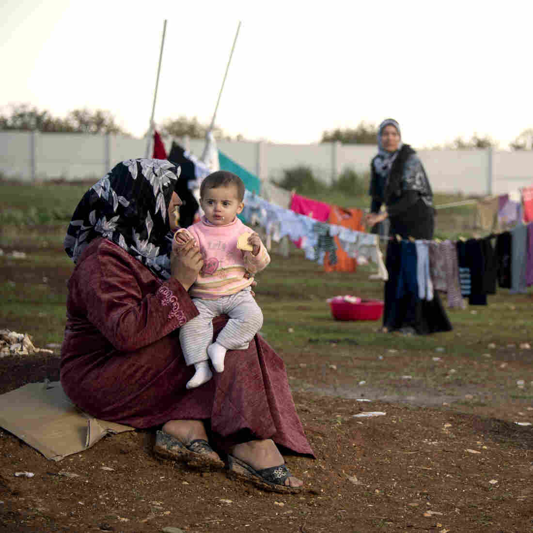 'It's A Disaster': Life Inside A Syrian Refugee Camp