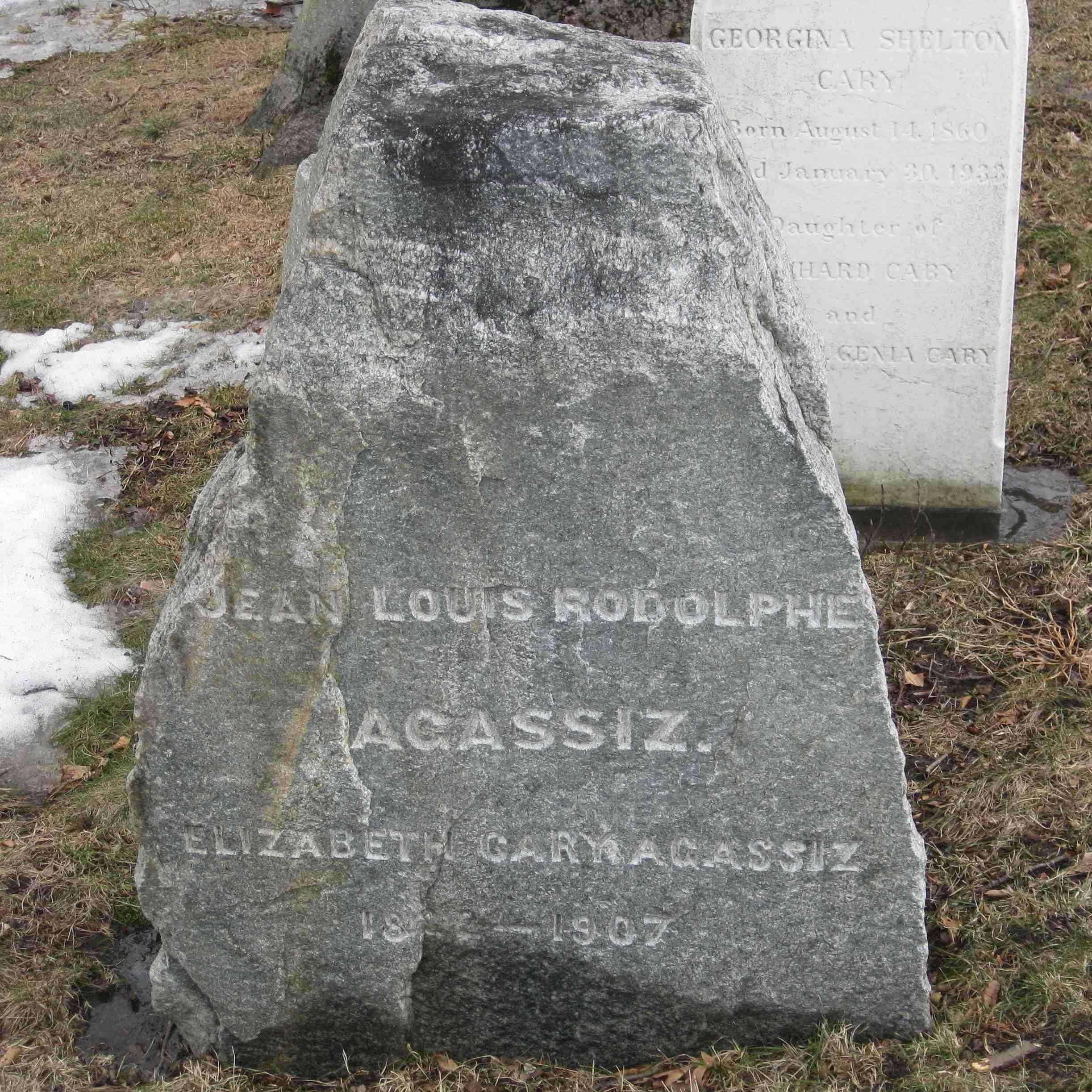 Louis Agassiz Gravestone
