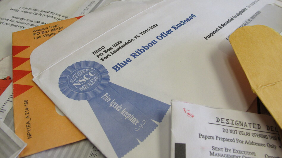 Fraud victims are more likely to have opened official-looking sweepstakes notices and other mailings. A new study says the elderly are more susceptible than the young to being swindled. (AP)