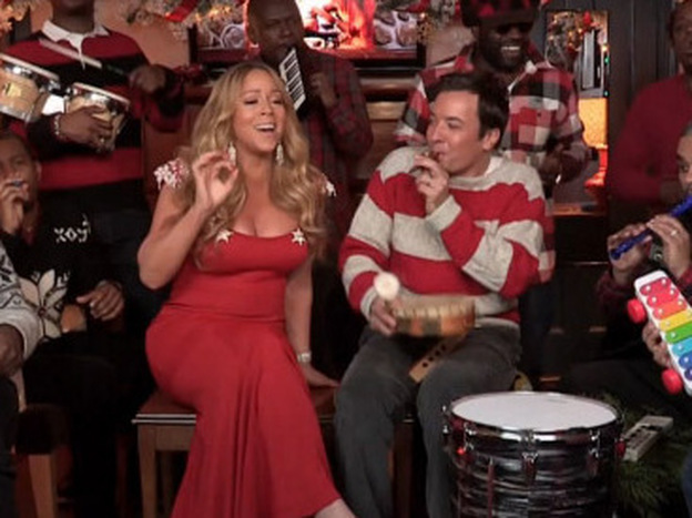 Jimmy Fallon And The Roots Help Restore The Charm Of Mariah Carey's Christmas Classic