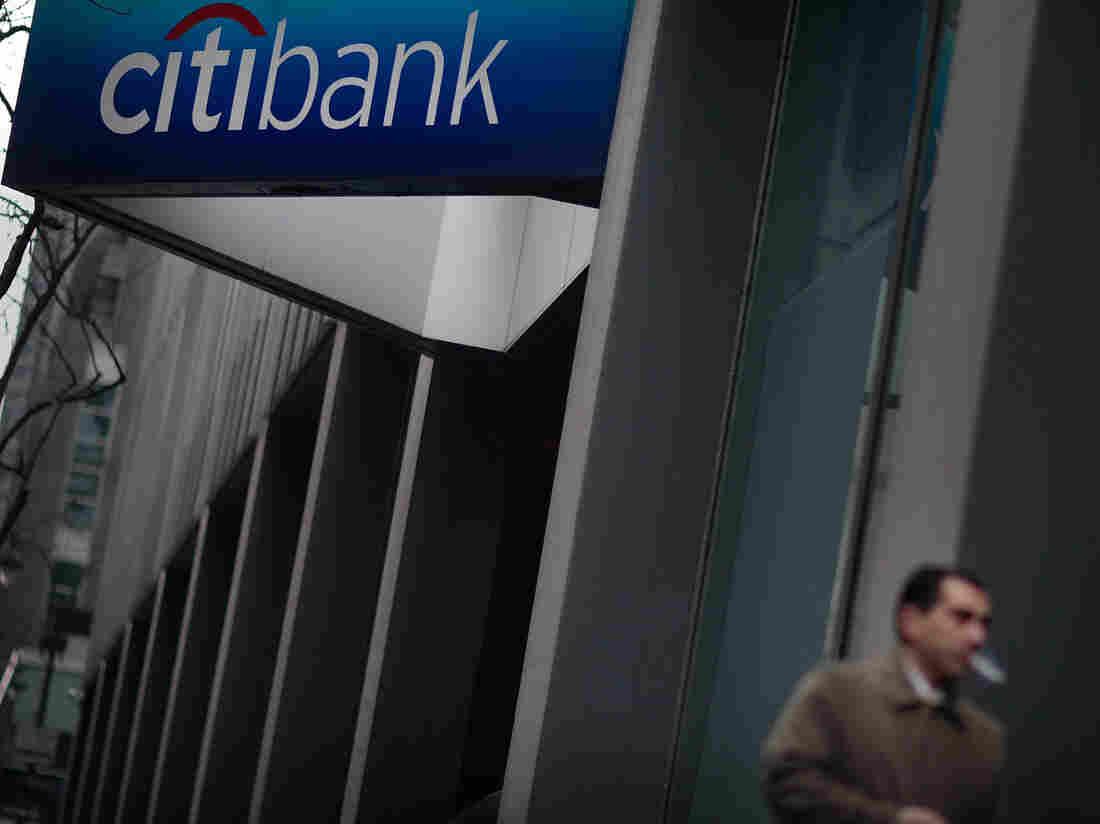A Citibank branch in Manhattan.