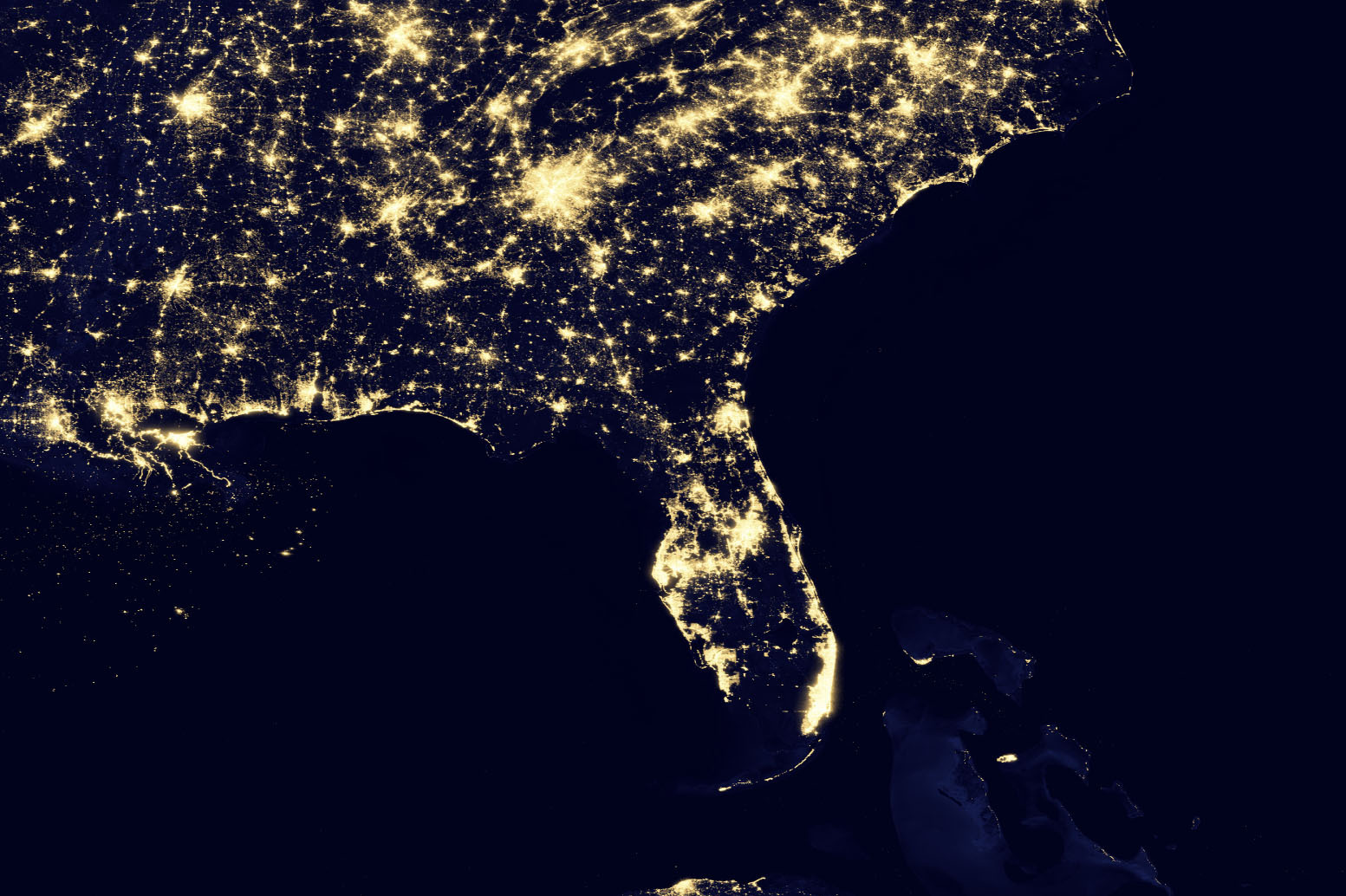 New Nasa Images Show The Earth S Electric Light Show