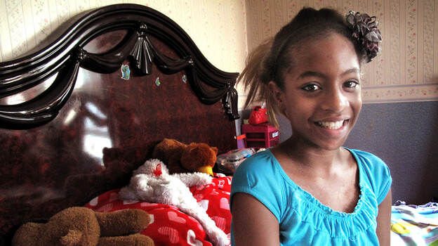 Maribel Ramos, 13, has both sickle cell disease and an abnormality of blood vessels called moyamoya. Both put her at risk of stroke, and, together, they add up to a 95 percent chance of a major stroke. (NPR)