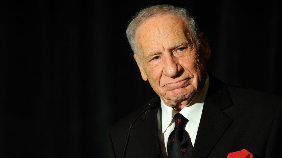 Mel Brooks has made a name for himself with comedy classics like Blazing Saddles, Young Frankenstein and The Producers. (Getty Images)