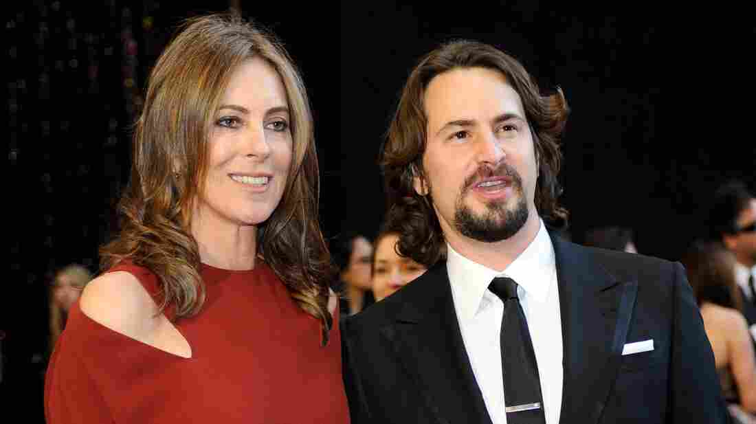 Director Kathryn Bigelow and screenwriter Mark Boal at the 83rd Annual Academy Awards.