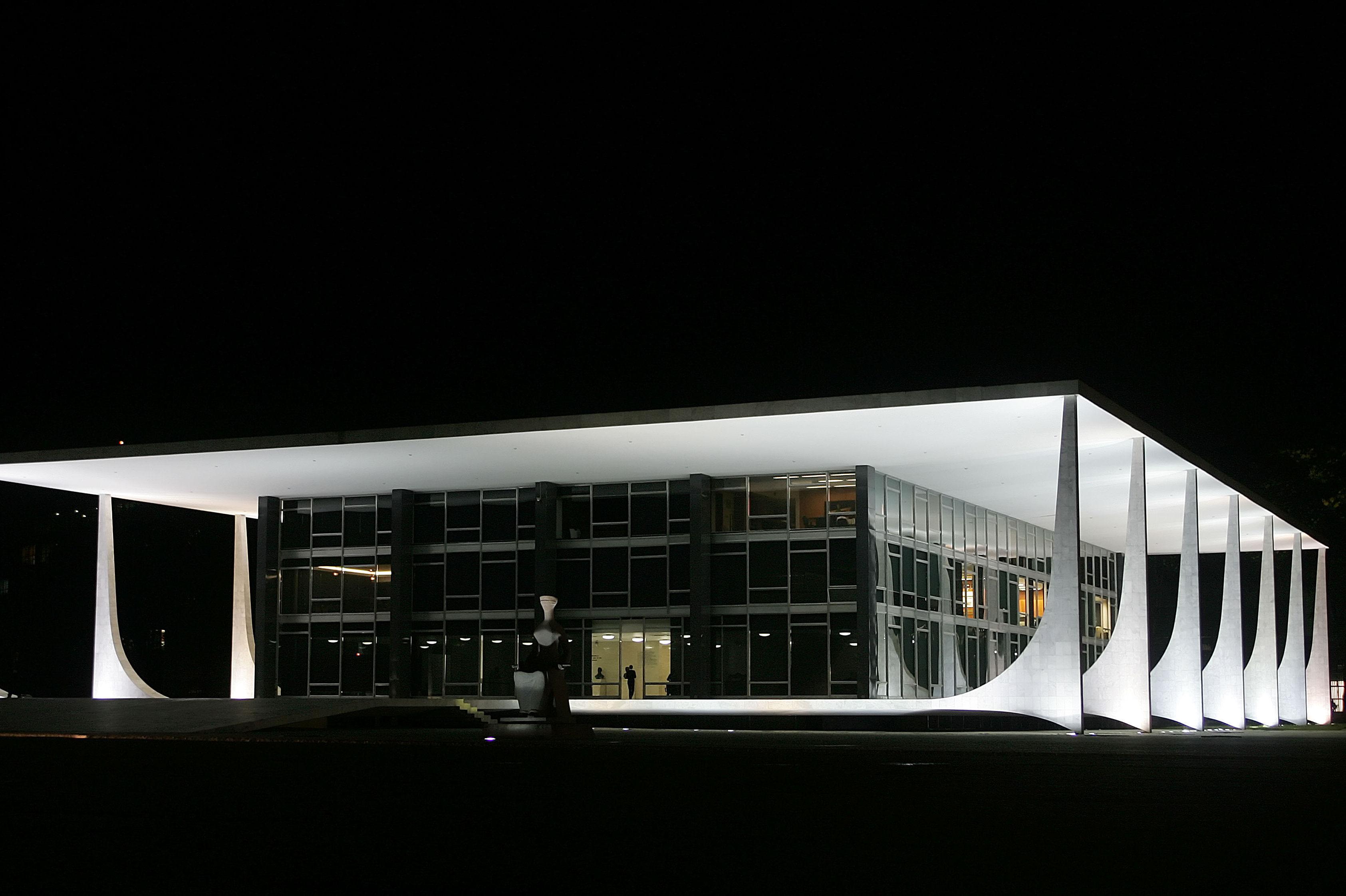 The Federal Supreme Court in Brasilia.