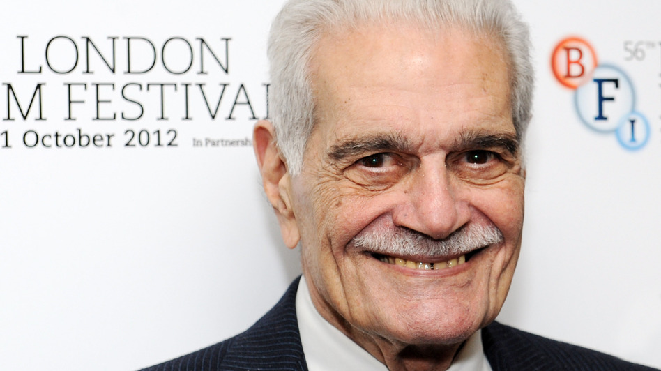 Omar Sharif received an Academy Award nomination for best supporting actor for his role in Lawrence of Arabia. (Getty Images)