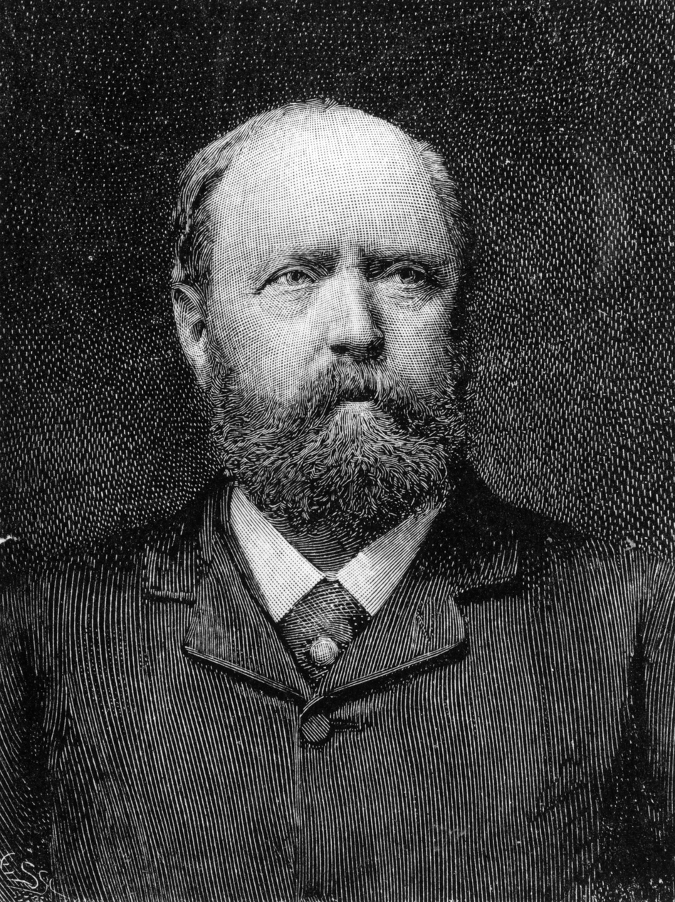 Othniel Charles Marsh was a professor of paleontology at Yale who made many dinosaur fossil discoveries, including the Apatosaurus — and the fictional Brontosaurus. (Getty Images)