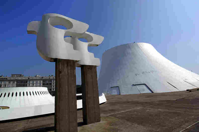 """""""The Volcano"""" at Le Havre Cultural Center, France, built in 1982."""