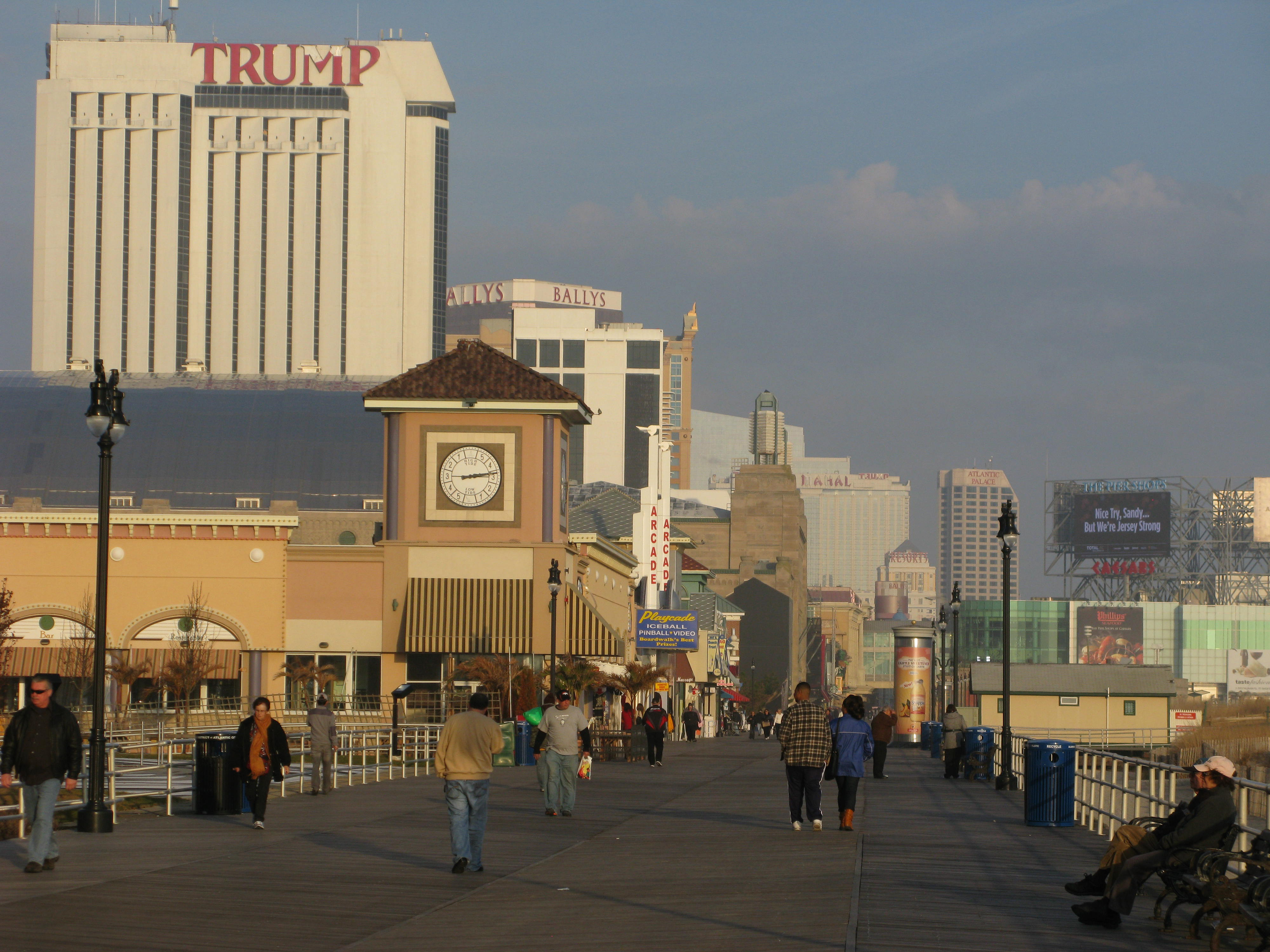 atlantic city casino damaged