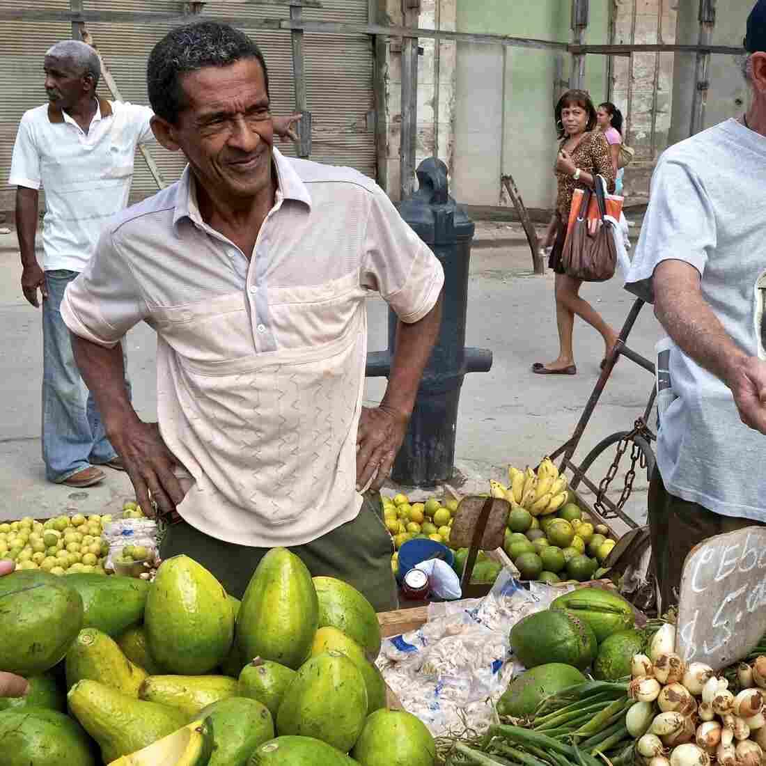 In Farmers Market, A Free Market Rises In Cuba