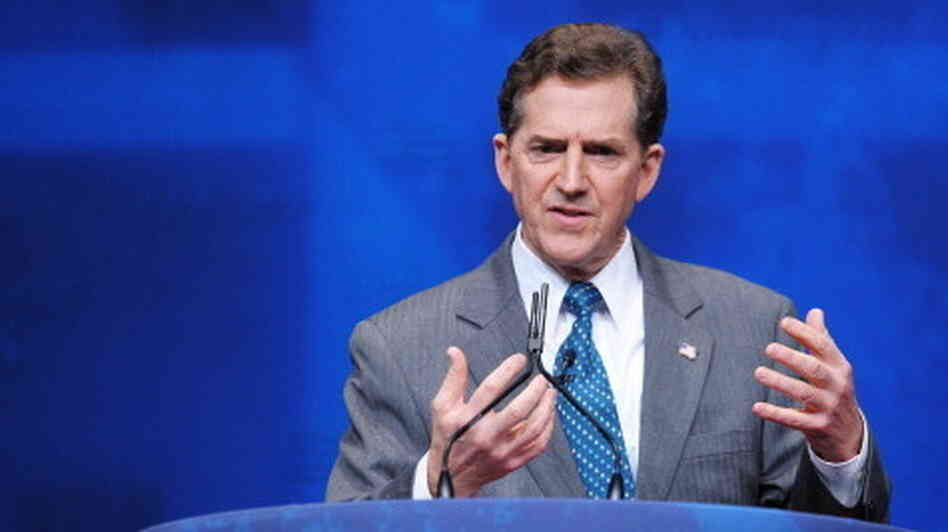 Sen. Jim DeMint, R-S.C., speaks during t