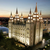 The Church of Jesus Christ of Latter-day Saints headquarters in Salt Lake City, Utah.