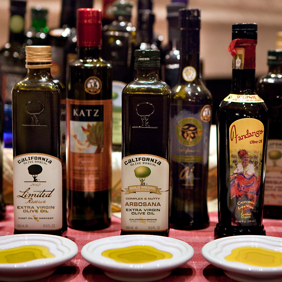 Surprise: Some of the best-tasting extra-virgin olive oils are now being produced domestically. Think Texas, California, Florida. (NPR)