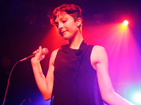 Poliça lead singer Channy Leaneagh.