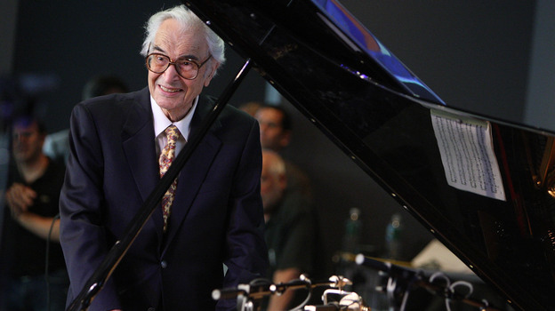 In a 1999 interview with Fresh Air's Terry Gross, Dave Brubeck talked about his decades in the music industry and his first love: rodeo roping. (Getty Images)