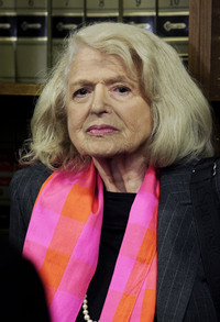 Edith Windsor, 83, is asking the Supreme Court to strike down the federal Defense of Marriage Act. When Windsor's female spouse died, the federal government, acting under DOMA, required Windsor to pay estate taxes that she would not have owed if her spouse had been a man.