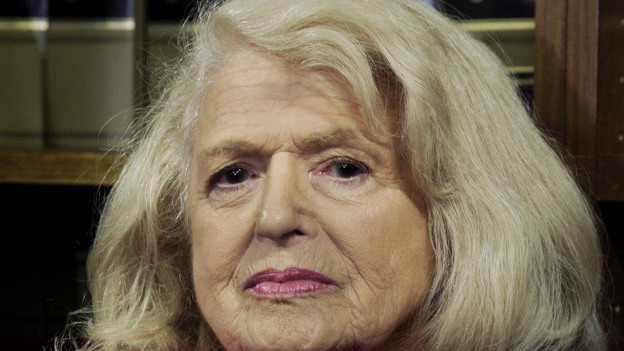 Edith Windsor, 83, is asking the Supreme Court to strike down the federal Defense of Marriage Act. When Windsor's female spouse died, the federal government, acting under DOMA, required Windsor to pay estate taxes that she would not have owed if her spouse had been a man. (AP)