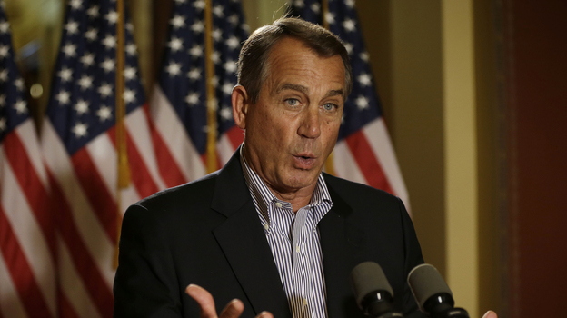 Speaker John Boehner's sway over fellow House Republicans appears to be on the rise. (AP)