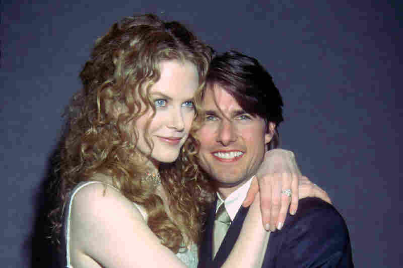 Nicole Kidman, 5 feet 11 inches, and Tom Cruise, 5 foot 7 and some change, at the Writer's Guild Awards in 1998.