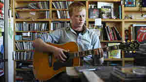 Daniel Bachman performs a Tiny Desk Concert on Nov. 16, 2012.