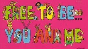Free to Be ... You and Me features such celebrities as Alan Alda, Diana Ross and Harry Belafonte.