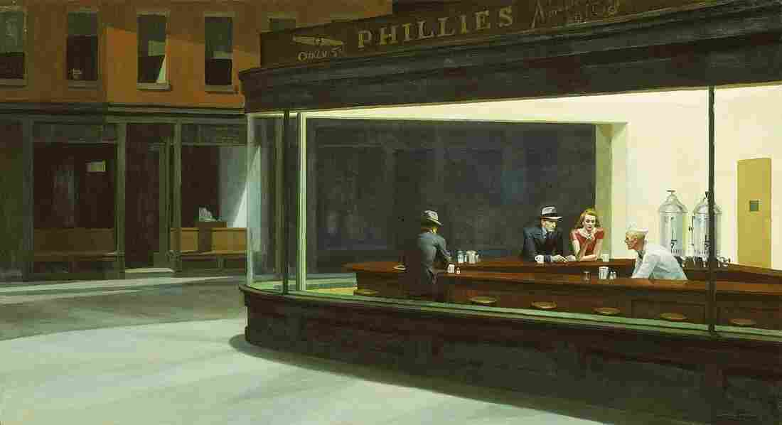 Edward Hopper is well-known in the U.S. for paintings such as Nighthawks (1942) — pensive, lonely portraits of people sitting together yet alone. He was less well-known in France, but an exhibit of his work at the Grand Palais has drawn impressive crowds.