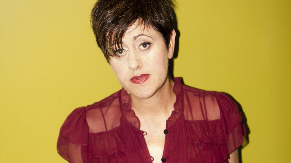 Tracey Thorn's new holiday-themed album is called <em>Tinsel and Lights</em>.