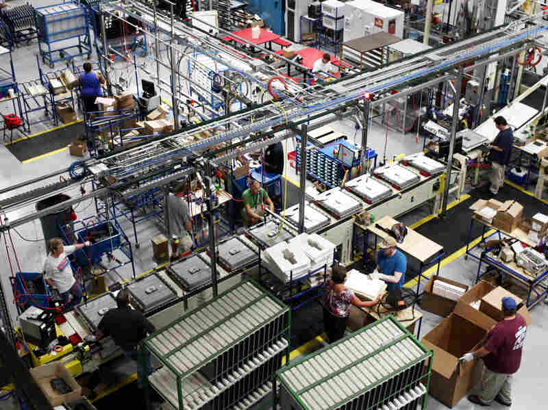General Electric's Appliance Park has been in Louisville, Ky., since 1951. But it's putting new power behind its U.S. production.