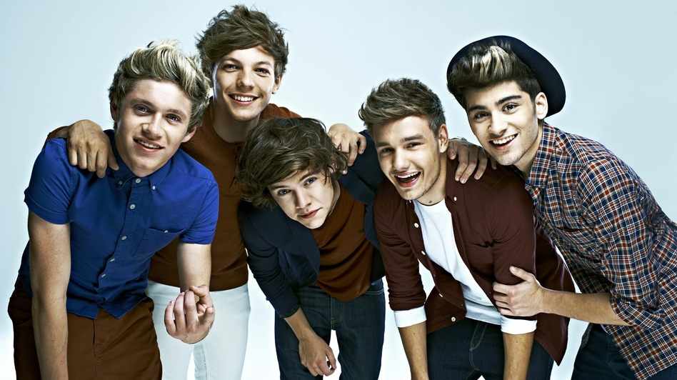 Formed in 2010, One Direction are one of the biggest pop acts in the world. Left to right: Niall Horan, Louis Tomlinson, Harry Styles, Liam Payne, Zayn Malik. (Courtesy of the artists)