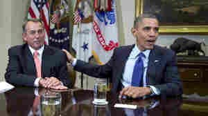 Obama, Boehner Meet At White House Over 'Fiscal Cliff'